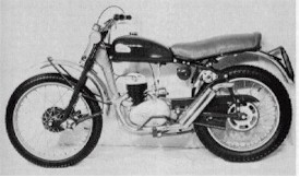 photo of first greeves motorcycle